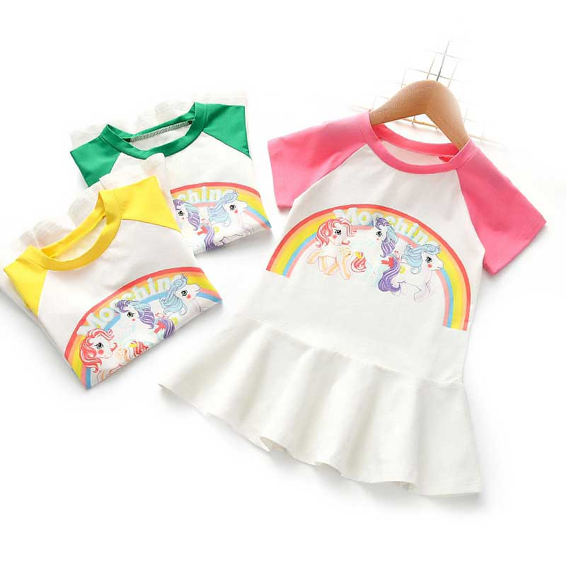 For, Girls, Children, Sleeves, Shirts, Unicorn