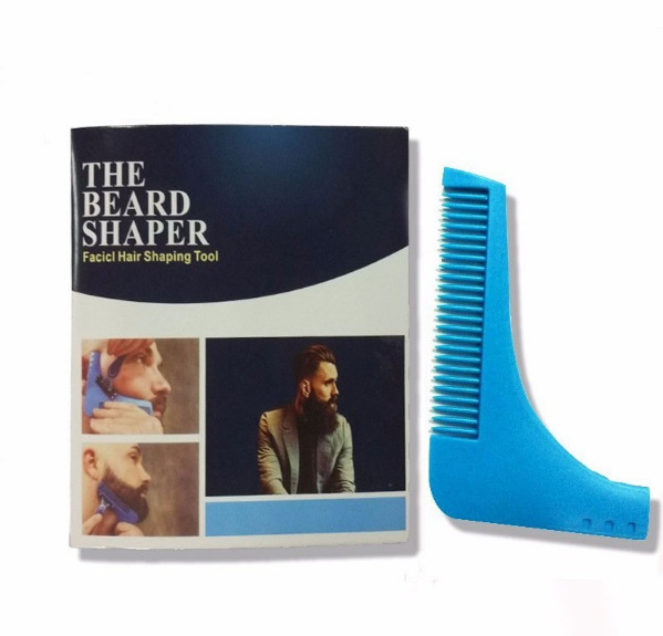 New Comb Beard Trimmer Shaping Tool Sex Real Man Gentleman Beard Trim Template Beard Combs Shaving Hair Molding