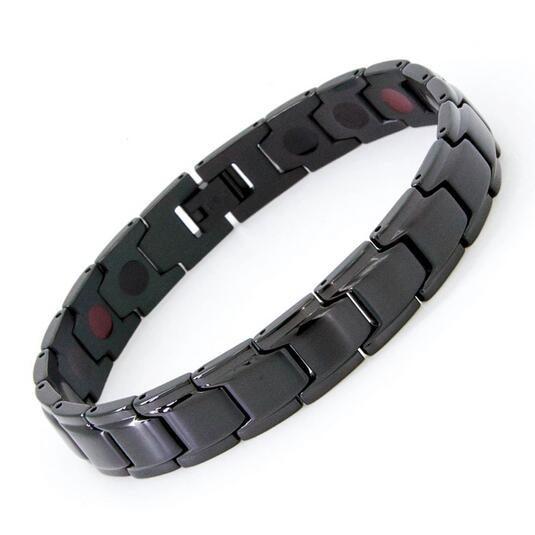 2017 New Magnet Bracelet Bangle For Men Stainless Steel Health Care Magnetic Germanium Male Bracelets Fashion Wristband