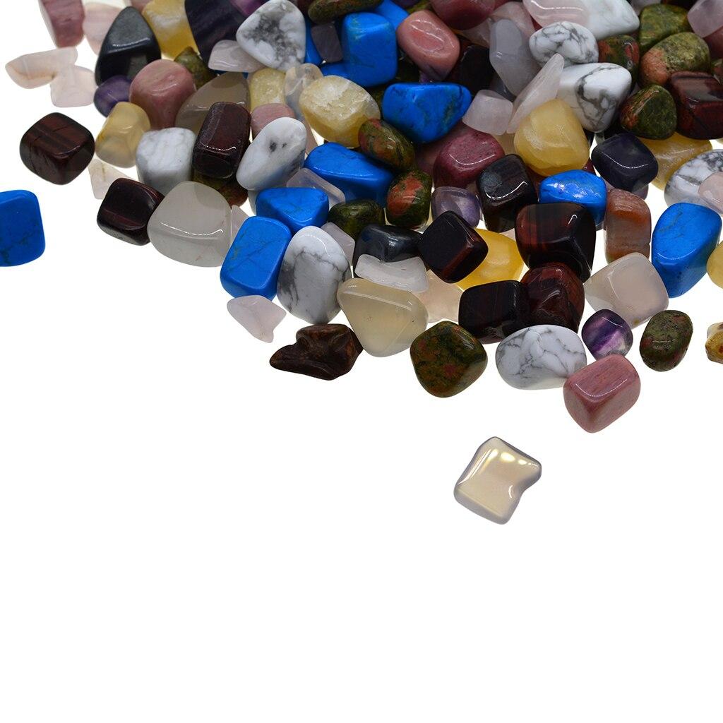 1 lb Ассорти упали фишек раздавленные камни для колье подвески ювелирных изделий решений