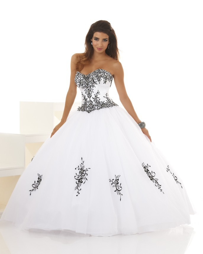 Online Shop Cheap Quinceanera Dresses With Sweetheart Organza Ball ...