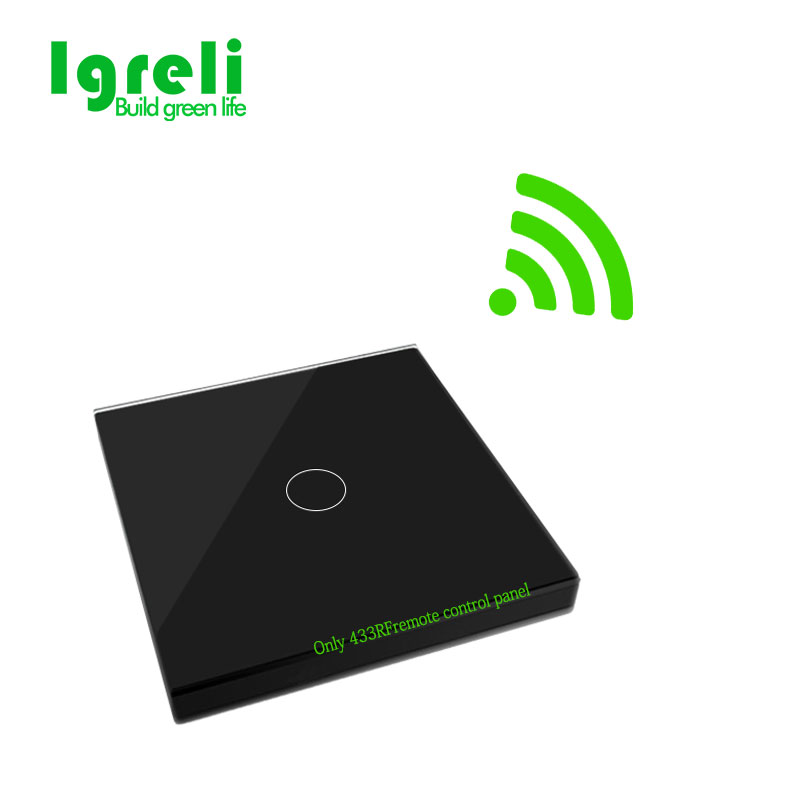 Igreli New Touch Switch Wireless Remote Control For Intelligent Wall Free Sticker Switches,free Wiring To Receive Rf433 Signals igreli new touch switch wireless remote control for intelligent wall free sticker switches free wiring to receive rf433 signals