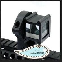 Тактический угол зрения 360 Поворот для Красный точка зрения Голографический лазерный прицел черный