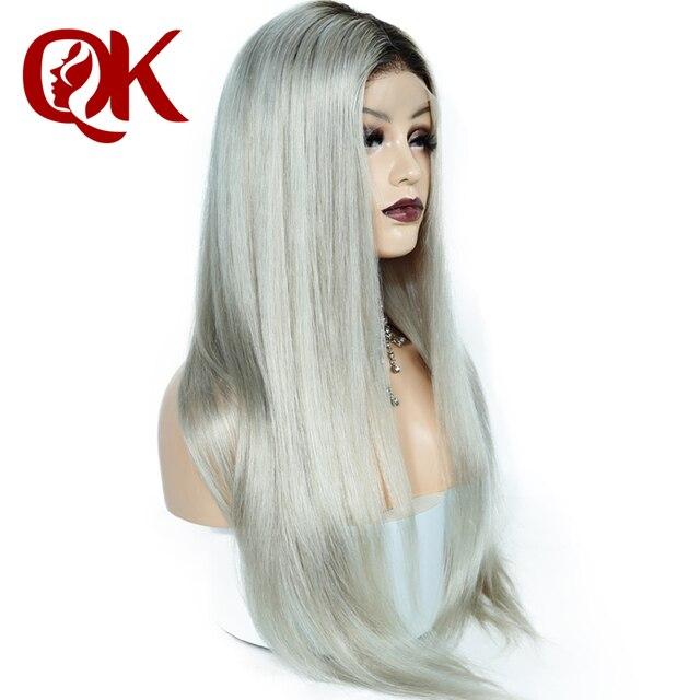 Queenking Hair 150 Density Ombre Kim Kardashian Human Hair Wig With
