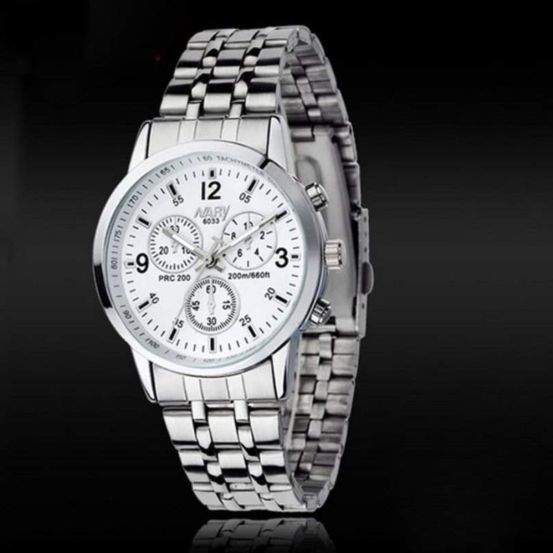 compare prices on accurate watches online shopping buy low price feitong luxury men 30m waterproof stainless steel quartz watch shockproof business male analog wristwatch accurate time
