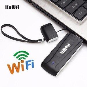 Image 5 - Enrutador de Wifi USB 4G desbloqueado, punto de acceso a la red FDD LTE, Router MÓDEM INALÁMBRICO Wifi con ranura para tarjeta SIM, 100Mbps