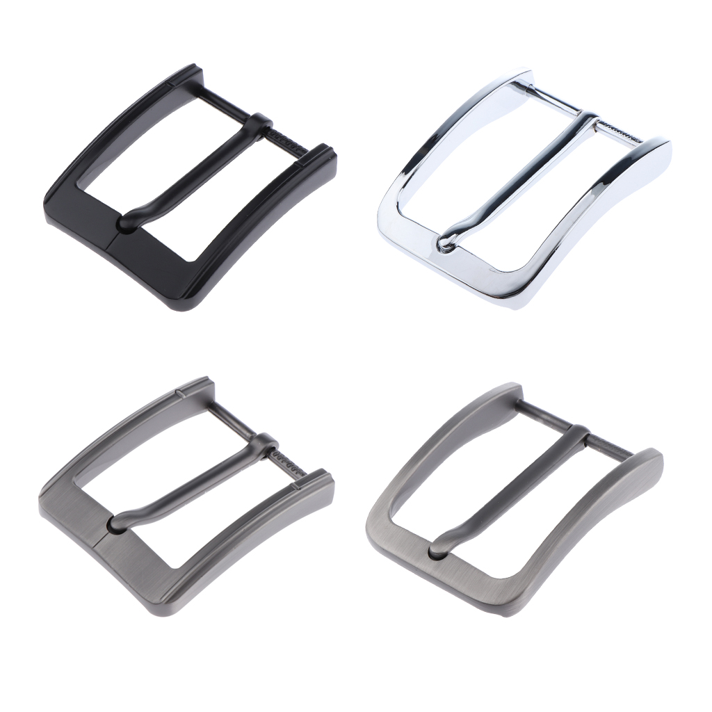 Alloy  65mm Pin Belt Buckle Men's Metal Clip Buckle DIY Leather Craft Jeans Accessories Supply For 1.5-1.54 Inch  Wide Belt