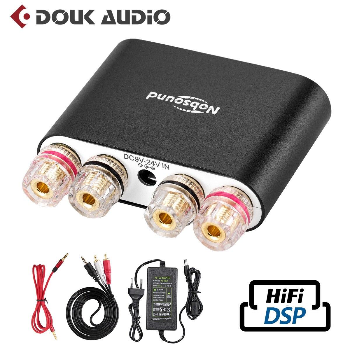 4edc13036d5874 2019 Nobsound Hi Fi Digital Amplifiers Stereo Mini DSP Bluetooth 4.2 Home  Audio Desktop Power Amplifier 50W*2 Black-in Amplifier from Consumer  Electronics