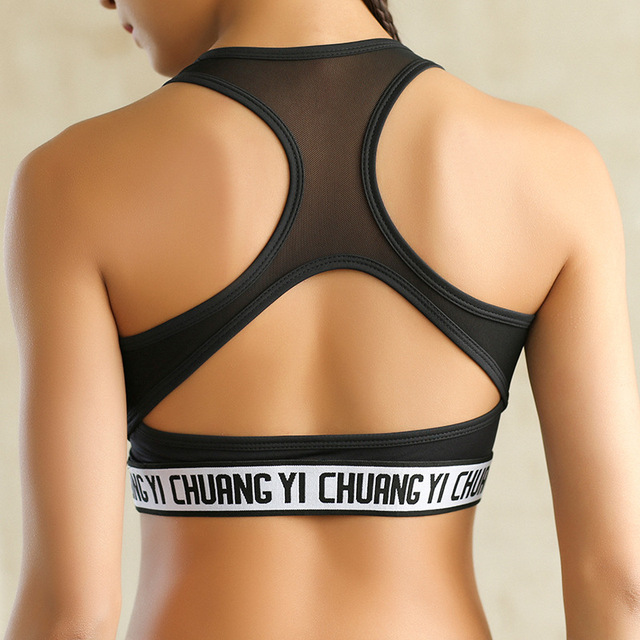 9c8bde505c8b1 New Sexy Yoga Bra Top Women Sports Workout T-shirt Gym Underwear Fitness  Young Girl