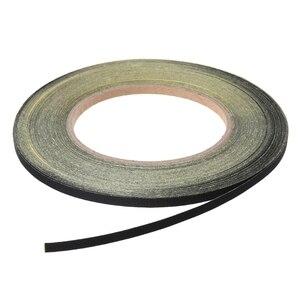 Image 1 - Cinta para tirachinas, 1 rollo, cinta de goma, cinta adhesiva plana para tiro, accesorios de caza