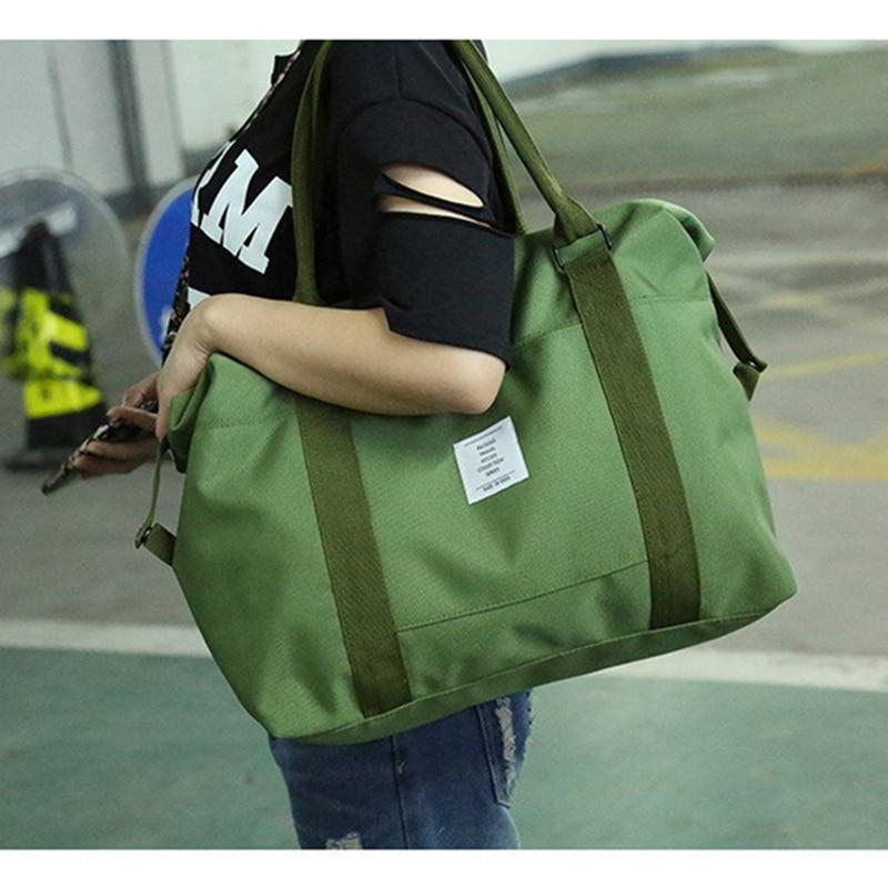 RUPUTIN Travel Abroad Boarding Bag Large Capacity Hand Luggage Shoulder Bag Storage Clothes Bag Trolley Case Oxford Travel Bag