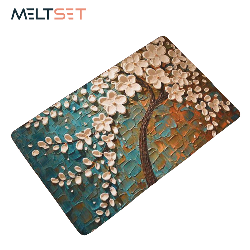 New 3D Vivid Tree Oil Painting Carpet Anti-slip Floor Mat Rug For Bathroom Kitchen Outdoor Rugs Front Door Mat