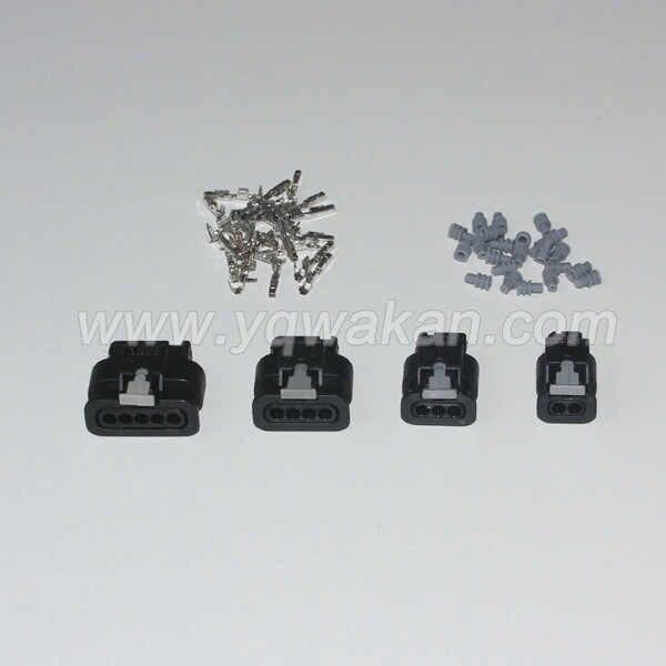 Бесплатная доставка, оптовая продажа, 1 комплект, 1,2 мм, серия 2/3/4/5, гнездовой электрический соединитель 1718653-1 1-1924067-4 1-1718806-1 1-1718645-1
