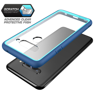 Image 2 - Voor Lg V40 Thinq Case Supcase Ub Stijl Premium Hybrid Beschermende Tpu Bumper + Clear Cover Case Voor Lg v40 Caso