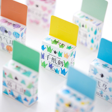 24 pcs/Lot Mild color paper washi tape Cute masking Decoration adhesive sticker Stationery School supplies FJ147