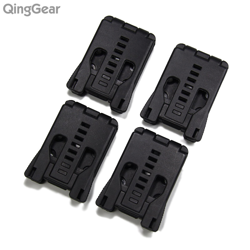 4pcs/lot Knife Parts Belt Loops Large Tek Lok Belt Clip For Knife Kydex Sheath Holster with screw Free shipping микрофонная стойка quik lok a344 bk
