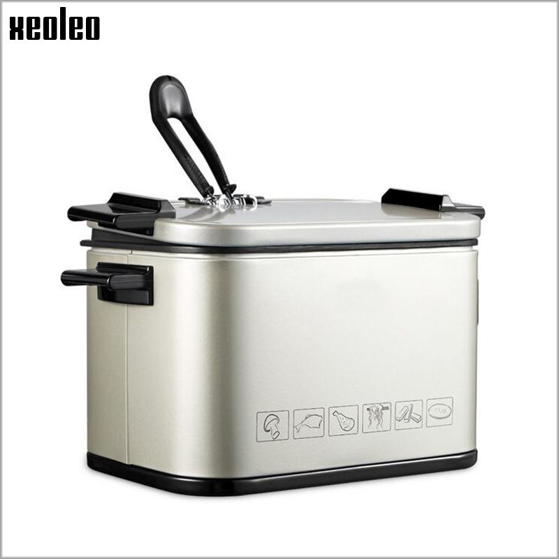 XEOLEO Multifunction Fryer 920W/2LFrying pan frying machine Stainless steel electrical fryer Chicken/ Potato/Fry Potato/Churros 220v 12l electric deep fryer for spiral potato twister potato tornado potato fry potato churros chicken