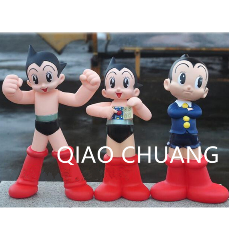 40CM Astro Boy Figure Toy Anime Cartoon Astroboy PVC Action Figure Collectible Model Toy Doll Children Gifts L345