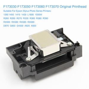 Image 2 - Cabezal de impresión F173050 F173060 F173070 para Epson Stylus Photo RX580 1390 1400 1410 L1800 1430 W R260 R270 R330 R360