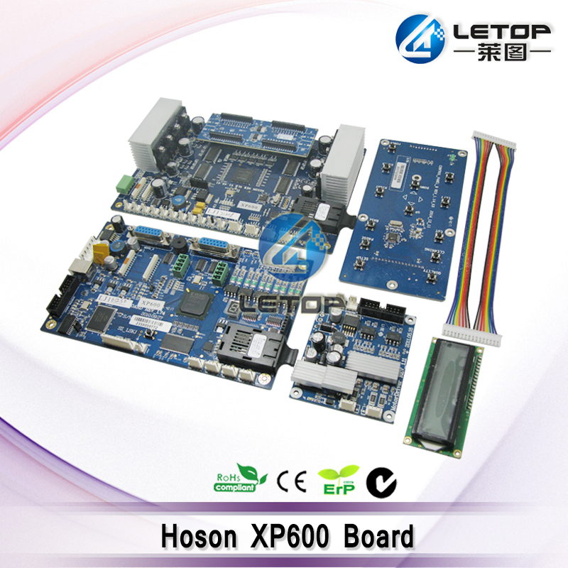 Double xp600 Printhead Hoson Board for ECO Solvent Printer affordable price 1 6m xp600 head eco solvent digital printer entry level large format vinyl banner poster printing machine