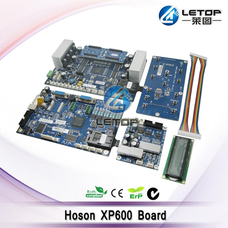 Double xp600 Printhead Hoson Board for ECO Solvent Printer xuli eco solvent printer for epson printhead 5113 main board
