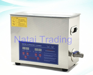 Image 4 - stainless steel 180W 6L diesel injector cleaning machine ultrasonic cleaner for common rail injector repair tool