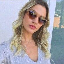 Colorful Frame Cat Eye Sunglasses/oculos masculino Women 2018 All-match UV400 Mirror Eyewear Vintage Anti-UV Glasses цены онлайн