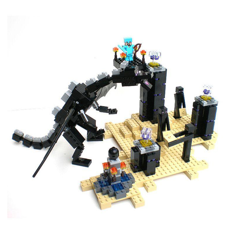 10178 my world series The Ender Dragon model Building Blockss