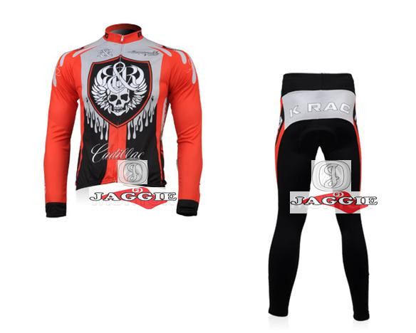 3D Silicone! new Racing 2010 #2 team long sleeve autumn cycling wear clothes bicycle bike riding cycling jerseys pants set