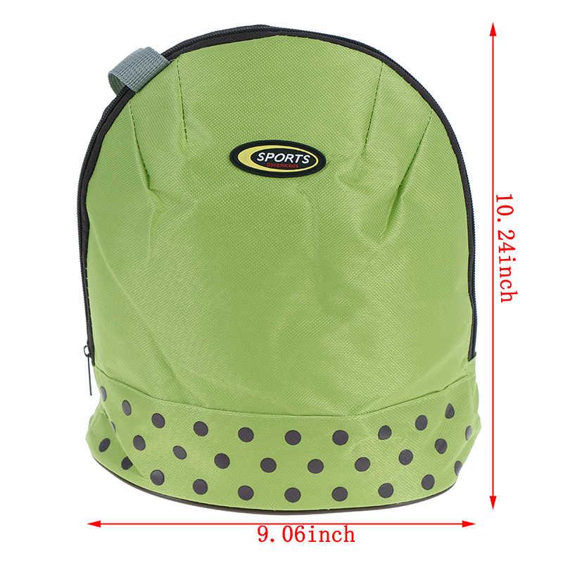 Thermo อาหารกลางวัน picnic กล่อง Cool กระเป๋าเป้สะพายหลังแพ็คน้ำแข็งสด Carrier ความร้อนไหล่กระเป๋า Oxford ใหญ่ Cooler BAG