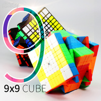 Moyu MF9 9x9 Küp 9 Katmanlar Sihirli Hız Küp Bulmaca 9x9x9 Siyah Stickerless Neo cubo Magico9 * 9*9 Eğitim erkek çocuk oyuncakları Yetişkinler Için