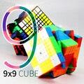 Moyu MF9 9x9 cubo 9 capas Cubo de velocidad mágica rompecabezas 9x9x9 negro sin adhesivo Neo cubo Magico9 * 9*9 juguetes educativos para niños y adultos