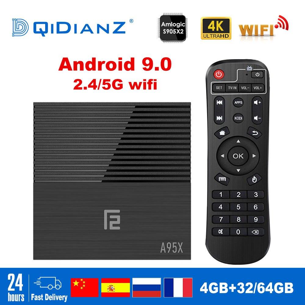 A95XF2 Smart TV BOX Android 9 0 Quad core ARM Cortex A53 USB3 0 4G 32G2