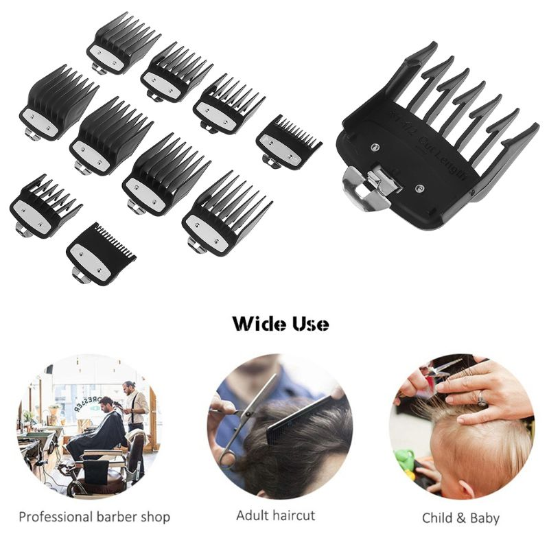 1PC Hair Clipper Limit Comb Guide Attachment Size Barber Replacement For Hair Cutting Hairdressing 10 Size