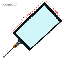 Nuevo Android (hoxiao) coche navigatio 174mm * 100mm 175mm * 100mm pantalla capacitiva tablet compatible PG71760B01-FPC XY-PG700049-FPC(China)