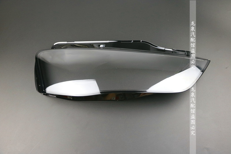 For 13 15 Audi A4L Headlight cover lampshade A4 headlamp lampshade new A4L lamp shade Headlamp hood in Shell from Automobiles Motorcycles