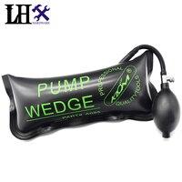 LHX Hardware Verde KLOM Bomba Cunha Airbag de Borracha Universal Air Wedge Serralheiro Ferramentas de Bloqueio Escolher Definir Abridor de Bloqueio Da Porta Do Carro