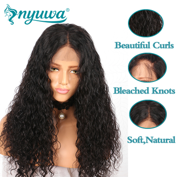 13x6 Lace Front Human Hair Wigs Glueless For Black Women Pre Plucked Hairline Brazilian Remy Hair Bleached Knots With Baby Hair  1
