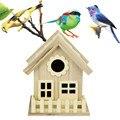 Creative Wall-mounted Wooden Outdoor Nest Bird House Bird Cage Nest Pet Supplies # 30