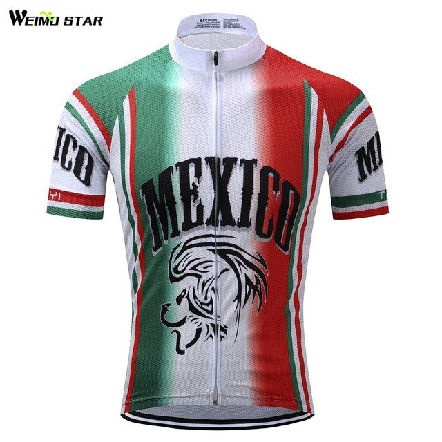 Weimostar Green Red Cycling Jersey Men bike Blouse bicycle top Ropa  Ciclismo maillot MTB jersey Racing Sport T-shirt Breathable 3d7b94d04