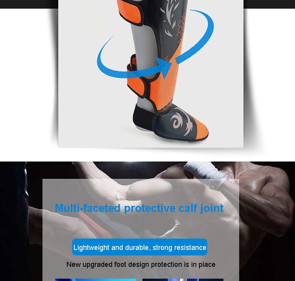 do plutônio boxe caneleiras tornozelo guardas protetor