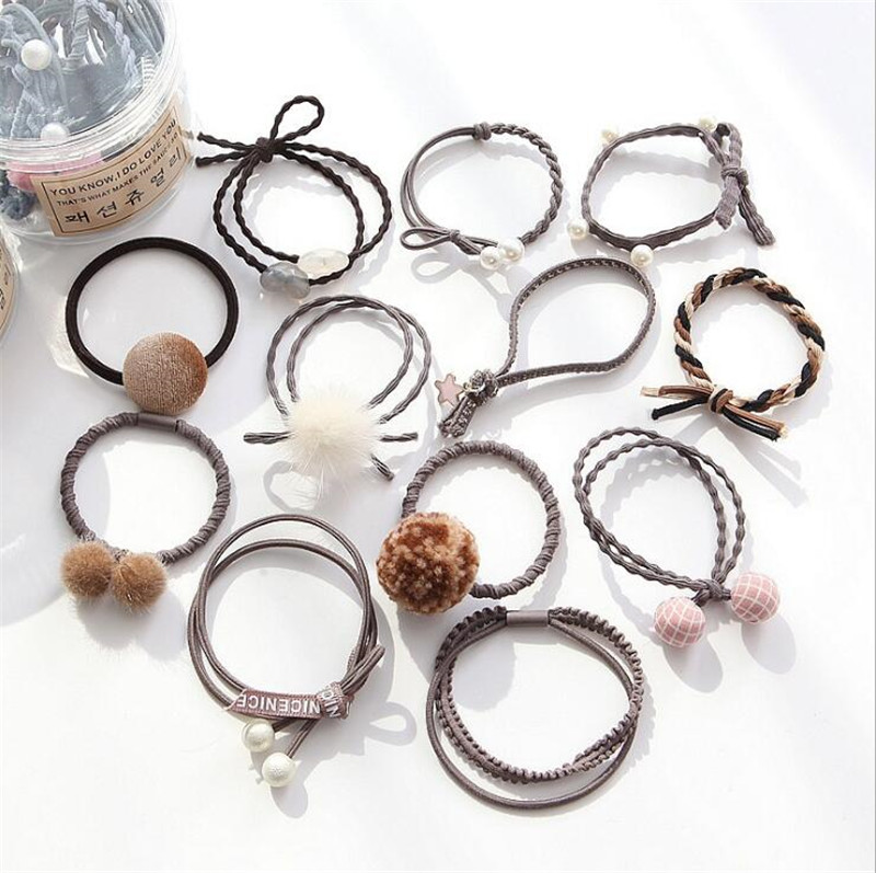 Back To Search Resultsapparel Accessories 26 Colors Lattice Scrunchie Women Girls Elastic Hair Rubber Bands Accessories Gum For Women Tie Hair Ring Rope Ponytail Holder