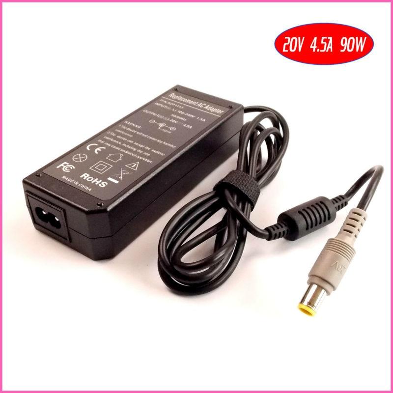 20 В 4.5a 90 Вт ноутбук адаптер переменного тока Зарядное устройство для IBM/Lenovo/ThinkPad T60 T60p t60t T61 T61p t61w z60 z60m Z60t Z61 z61m z61t z61p
