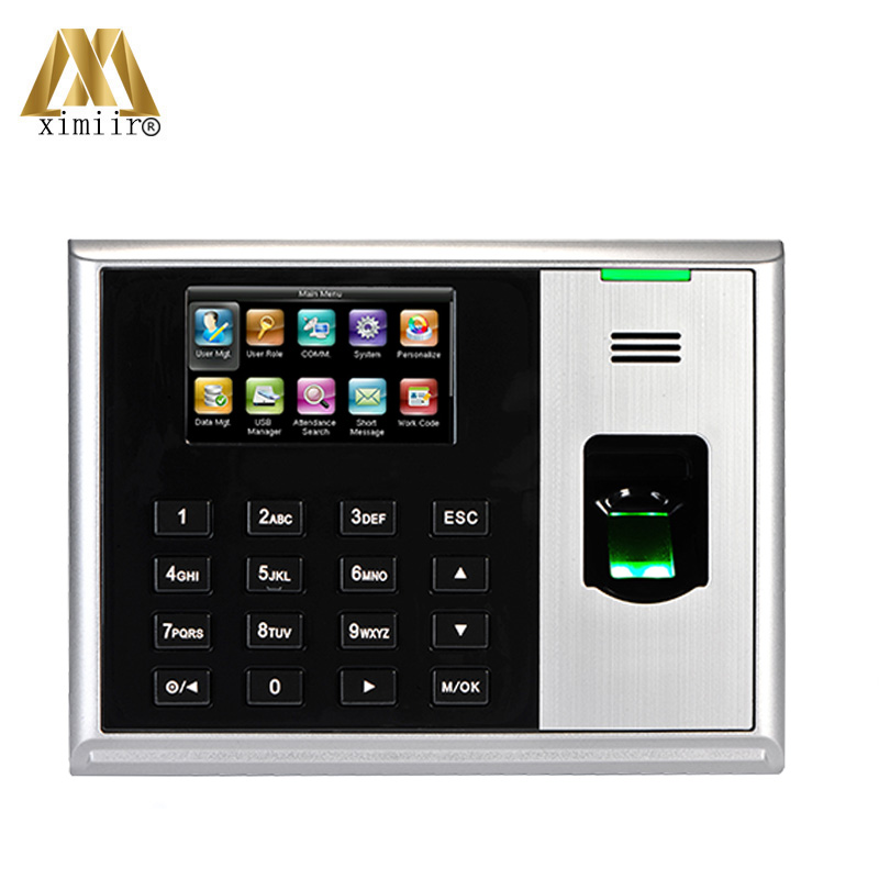 Hot Sale Biometric Fingerprint Time Attendance TCP/IP Time Attendance Machine ZK S30 With ADMS Function Free Software