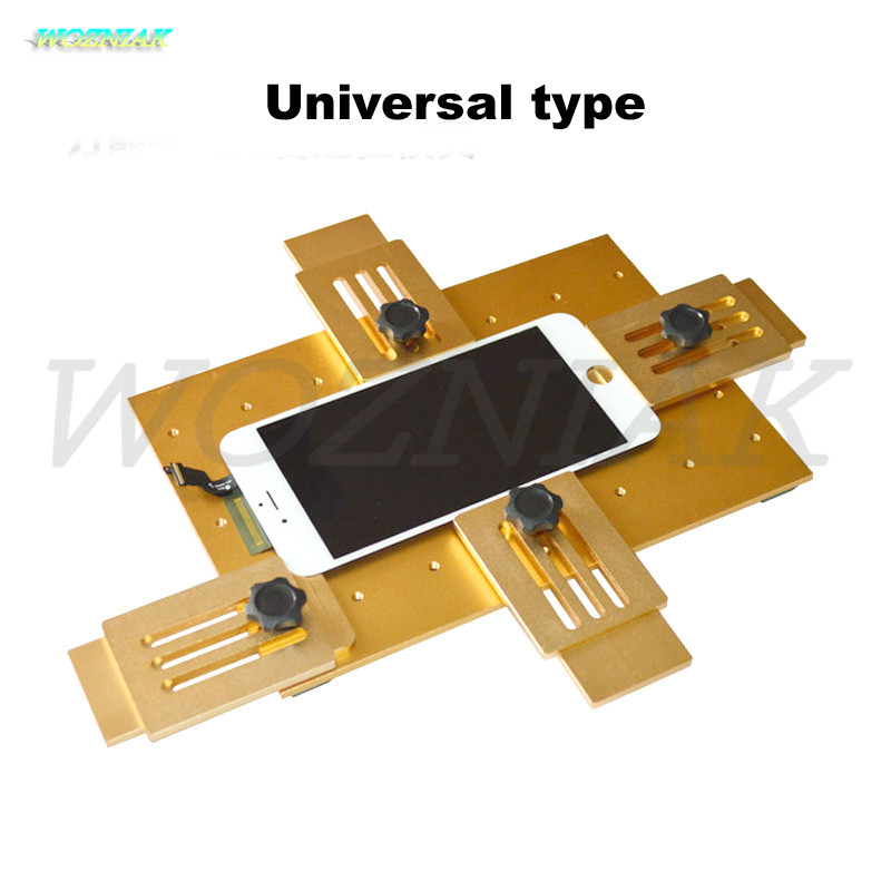 Free Shipping universal Aluminium alloy Mobile phone LCD screen Fit Location fixture fixed mould for iphone samsung tools free shipping new mobile phone lcd display for lenovo a500 mobile phone with tracking number