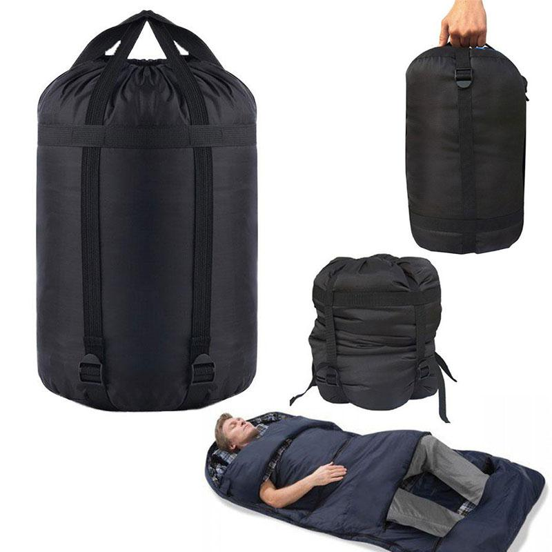 Us 3 97 29 Off Outdoor Foldable Nylon Storage Saving Bag Compression Sack Sleeping Pillow Waterproof In Bags From Sports