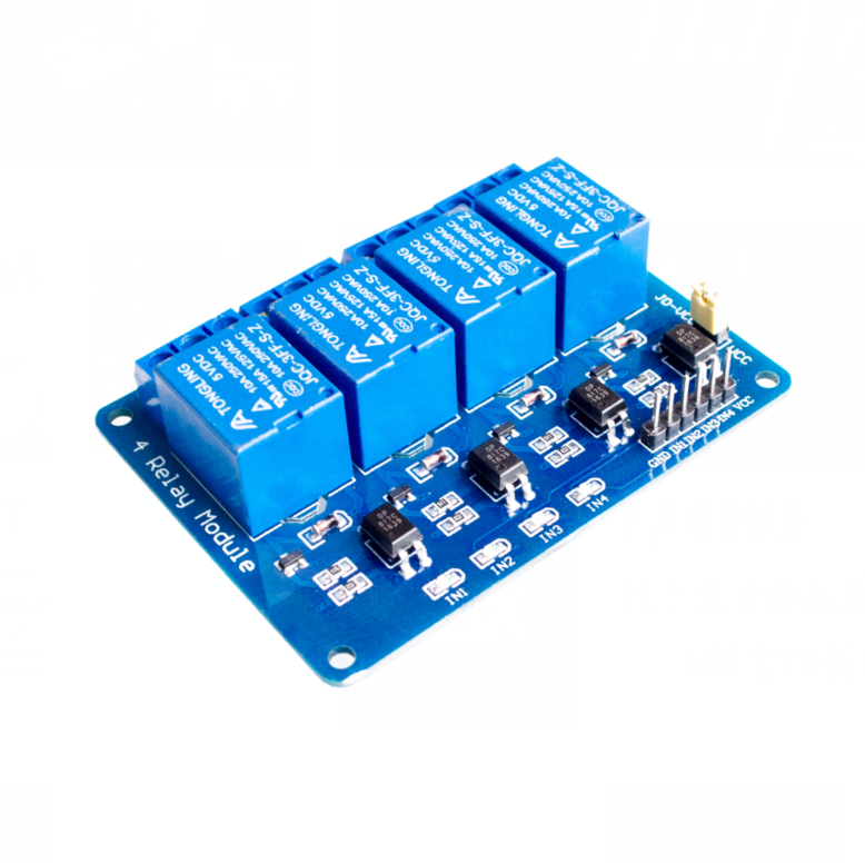 4 channel relay module 4-channel control board optocoupler. Relay Output way arduino - A+A+A+ store