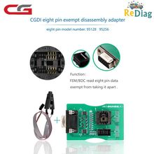 Read 8Pin EEPROM Board Works CGDI Prog For BMW&XPROG 5.55/5.74/5.84/UPA USB Programmer Reading 8 Pin Exempt Adapter FEM/BDC