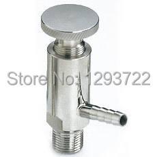 """1/2 """"DN10 Soudure sanitaire vanne d'échantillonnage SS 304, acier inoxydable vanne d'échantillonnage,"""