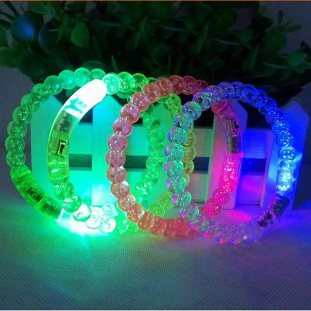 Design Flash Light Led Bracelet Acrylic